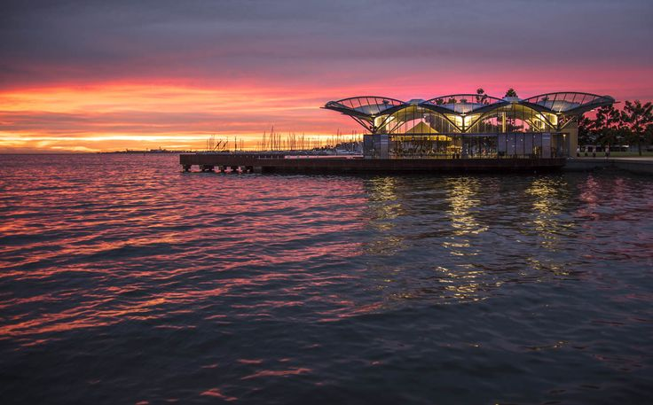 RoyalAuto, August, 2016. 10 things to love about Geelong. Photos: Anne Morley. #royalauto #geelong #geelongwaterfront #waterfront #carousel #water #reflection #sunset