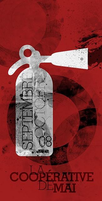 Coopérative de mai program - front cover -