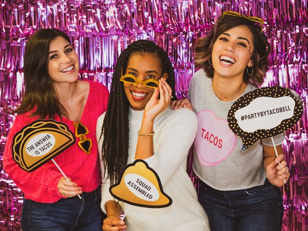 Taco Bell Galentine S Day Party Taco Bell Taco Bell Wedding Tacos
