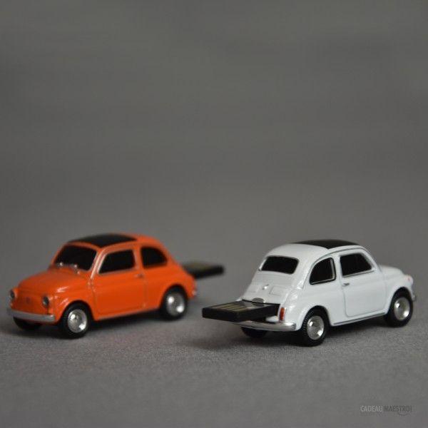 Clé USB 8 Go Fiat 500 fiat #fiat #voiture #car #usb