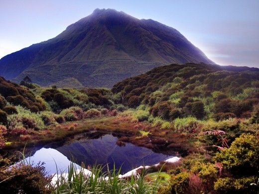 The majestic Mount Apo, with amazing natural resources hidden along its trail. - Philippines