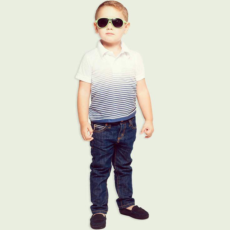 Calça Jeans Infantil Masculina com Barra Dobrada - Puramania :: 764 Kids | Roupa bebê e infantil