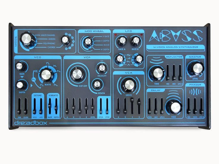 Dreadbox effects & synthesizers – abyss