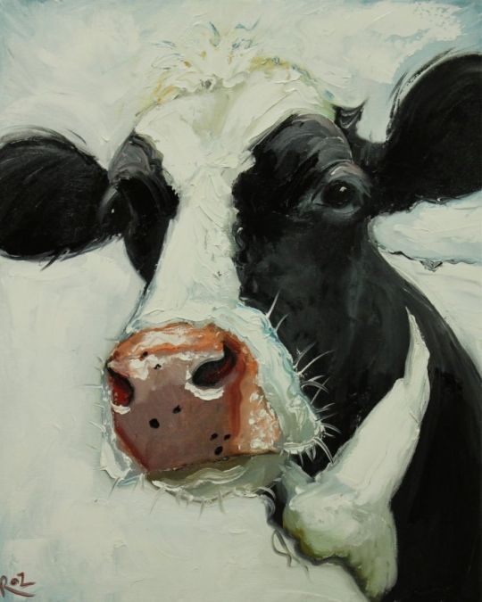 Cow art #art #cows
