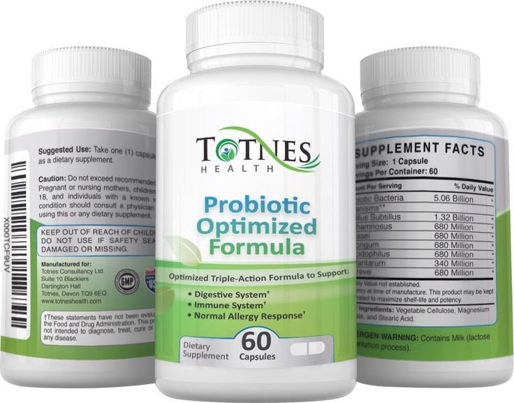 Amazon.com: Probiotics Supplement - Optimised Triple Action Formula for Improved Immunity*,Improved Digestive Health* and Reduced Allergies*: Health & Personal Care