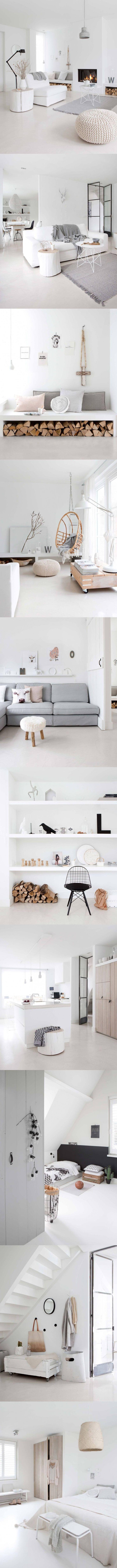 Tips para lograr un diseño nórdico / http://basillicana.tumblr.com