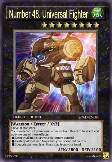 Yugioh zexal xyz cards