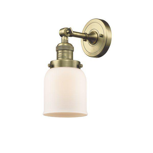 Gattis 1 Light Bath Sconce In 2020 Innovations Lighting Adjustable Sconce Sconces