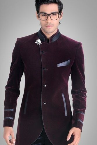 Johdpuri Suit/Indowestern suit. I may be white, but I love the fusion of Desi and Western in this suit!