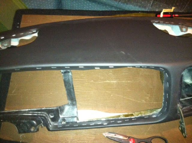 """As many of you padded-dash owners know, an uncracked dash is the crown jewel of a classic interior. But after decades of sun under a magnifying-glass-windshield, an original replacement is often unobtainable or unaffordable. So can you repair one yourself? We say yes. Here's the scoop: Recently, I purchased a 1980 Saab 900 turbo that had sat in the high desert in Oregon for the majority of its life. With """"grand-canyon cracks"""" in the dash as one friend observed, I found the necessity to…"""