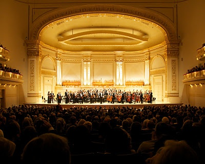 Carnegie Hall, New York - This is the stage that I performed on with the Washburn University Choir in June of 2001