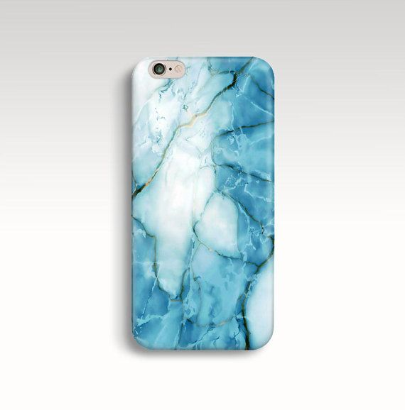 Marble iPhone 6s Case, Blue White Marble iPhone 6 Case ...