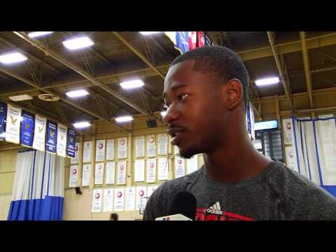 Terrence Ross at Raptors Basketball Academy...