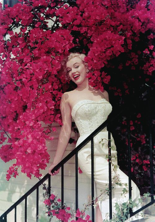 Marilyn Monroe photographed by Don Ornitz, 1951 I just want to be wonderful: