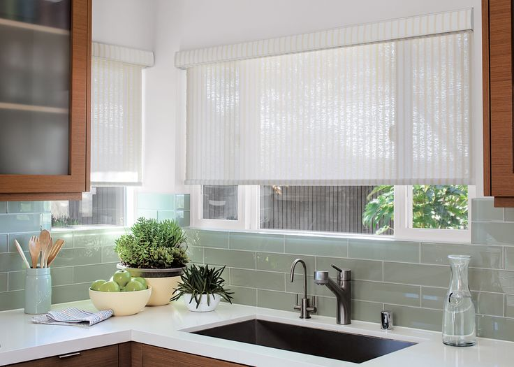 a classic kitchen space never goes out of style especially with a solar shade