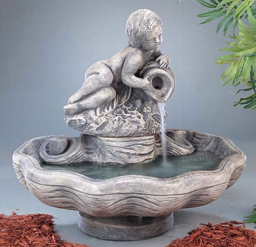 Cherub Fountain Fountain Design Fountain Cast Stone