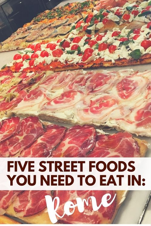 It's fair to say, the Romans know how to eat well.   But, you need to know what to eat and you need to know where to eat it. Here are the five street foods you NEED to try in Rome. You won't regret it, I promise.