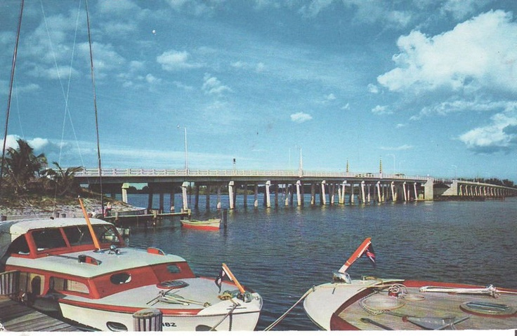 Old barber bridge vero beach vero beach pinterest for Vero beach fishing pier