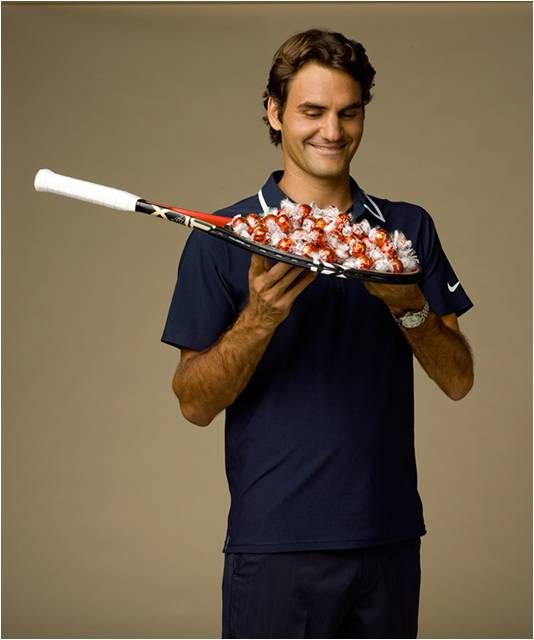 Roger Federer | World of Lindt | Lindt Chocolate World