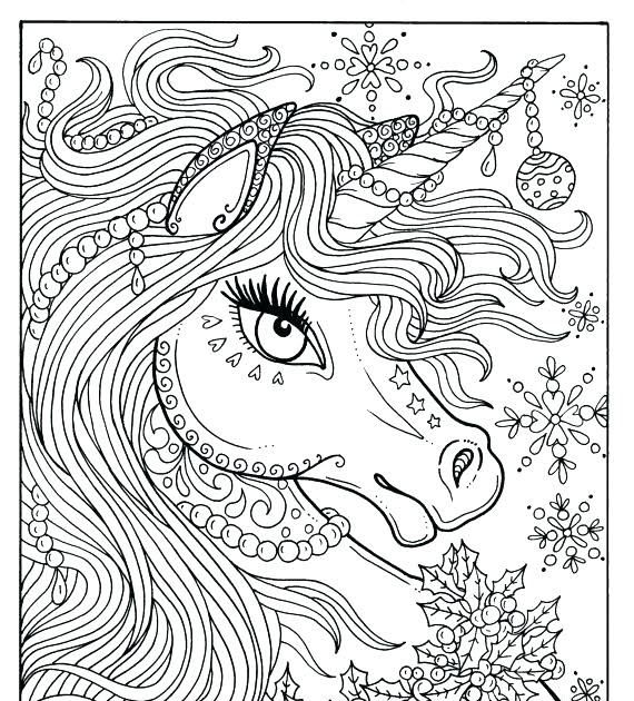 Unicorn Coloring Pages Hard Unicorn Coloring Pages Dragon Coloring Page Hor In 2020 Unicorn Coloring Pages Birthday Coloring Pages Printable Christmas Coloring Pages