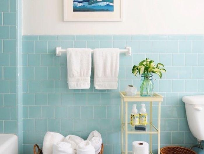 24++ Faience salle de bain vert d eau inspirations