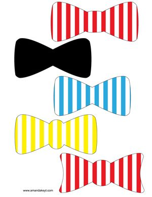 Circus Party Free Printable Photo Booth props at www