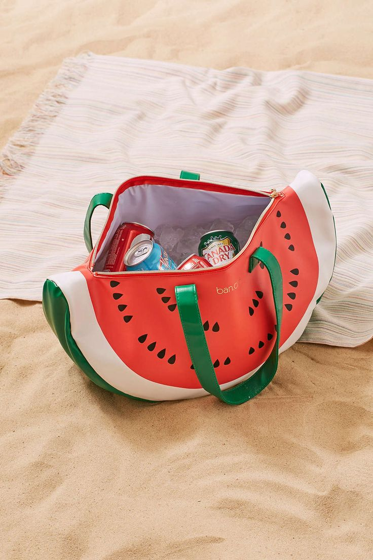 watermelon cooler bag