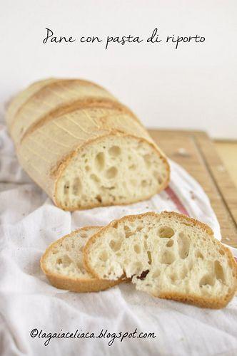 La gaia celiaca: Pane senza glutine con pasta di riporto molto mattiniero