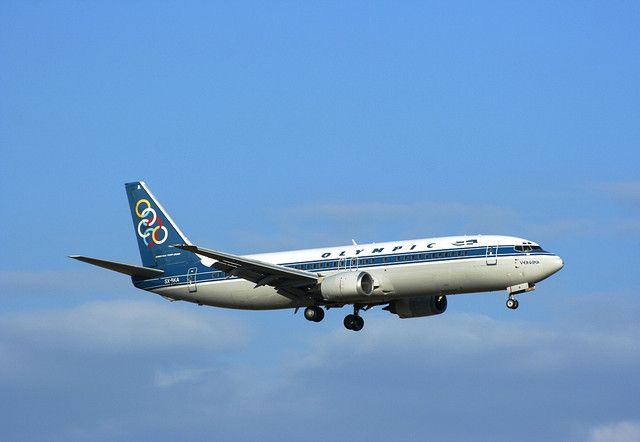 olympic airlines | OLYMPIC AIRLINES 737-400 SX-BKA