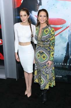 "Eleanor Lambert and Diane Lane <a href=""http://www.wonderwall.com/news/diane-lanes-daughter-model-1912899.article"">attend the New York premiere</a> of ""Batman v Superman: Dawn of Justice"" at Radio City Music Hall in New York on March 20, 2016. What a mother-daughter duo!"