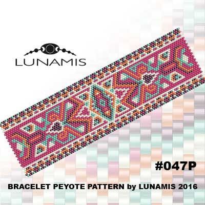 PDF FORMAT / PATTERN ONLY. Create this beautiful peyote cuff bracelet.  Miyuki Delica Beads size 11/0 Odd count with 5 bead colors. 35 bead columns by 91 bead rows. Width: 1.8 (4,7 cm) Length: 6.2 (16 cm)   Patterns include: - Large colored numbered graph paper (and non-numbered in another files) - Bead legend (numbers and names of delica beads colors ) - Word chart - Pattern preview  This pattern is intended for users that have experience with odd count peyote and the pattern itsel...
