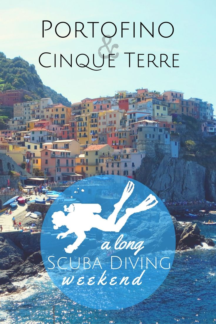 A long scuba diving weekend from Portofino to Cinque Terre - World Adventure…
