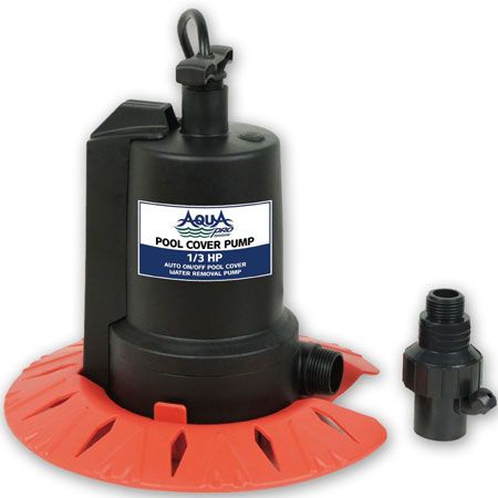 10. AquaPro Swimming Pool Cover Pump - 1/3HP