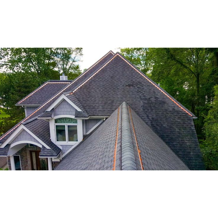 Best Copper Cat Algae Terminating Roofing Strips Carton Of 10 Copper Roof Slate Roof Cost Slate 640 x 480