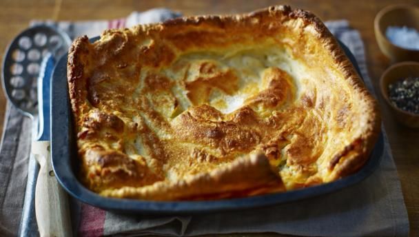 Traditional Yorkshire pudding |      You can't beat Delia for the basics and this Yorkshire pudding recipe made with beef dripping is a failsafe accompaniment to roast beef. Equipment and preparation: You will need a solid roasting tin measuring 28x23cm/11x9in.