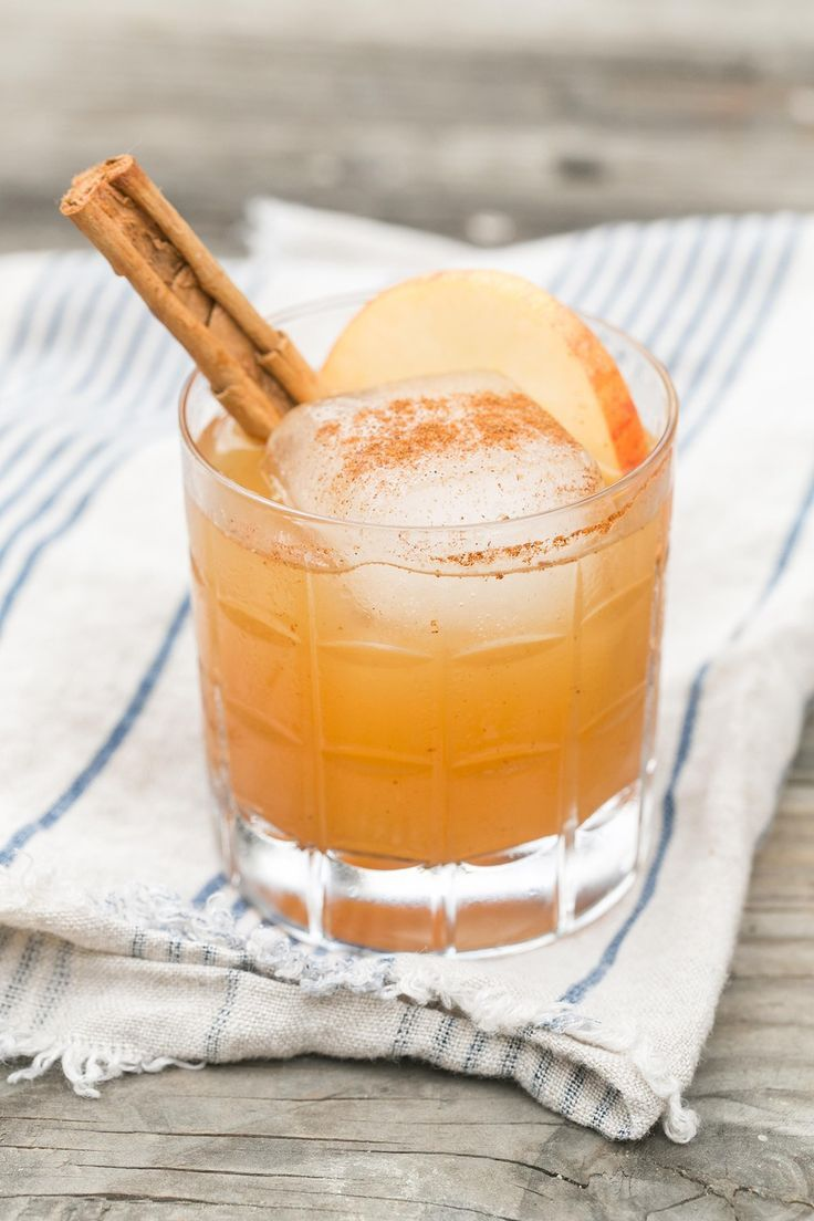 Apples and Tequila Cocktail- a fun twist on typical fall flavors finished off with a dash of walnut bitters, yum!