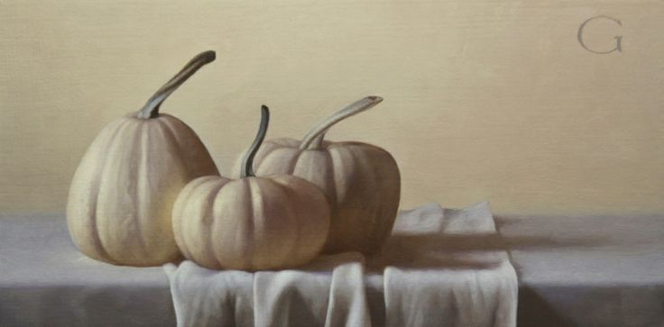 Autumn Trio, 8x16, oil/panel