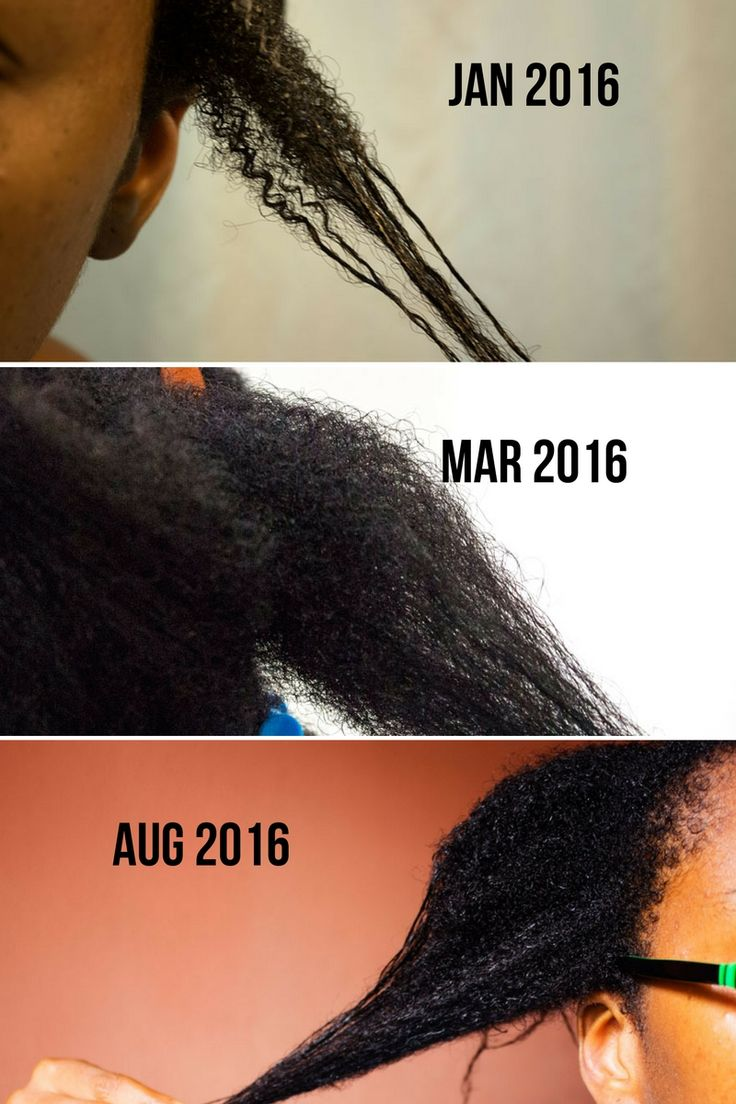 Transitioning Hair