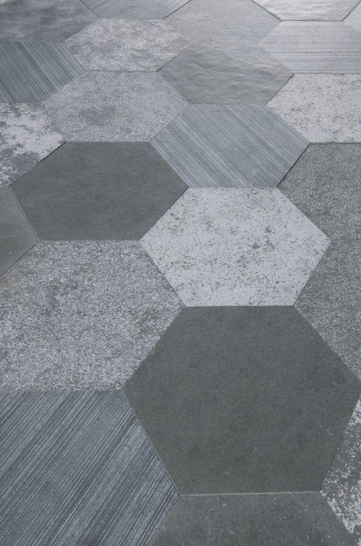 Rivestimento in pietra naturale Azul Origami Collezione I Neutri by ARTESIA® / International Slate Company