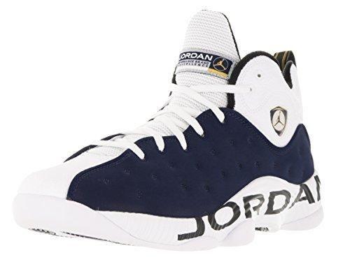 Nike Jordan Men's Jordan Jumpman Team II Mid Nvy/Mid Nvy/White/Vrsty Mz Basketball Shoe 10 Men US