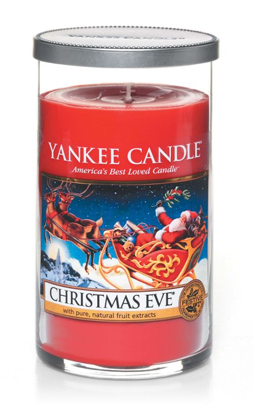 Yankee Candle – vonná svíčka Christmas Eve, Décor, střední