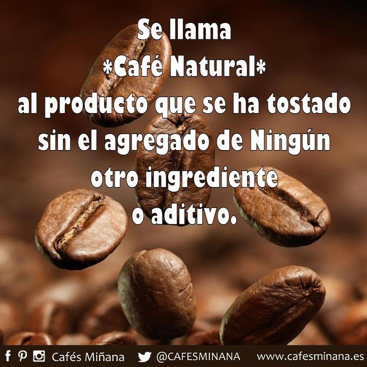 Se llama #café natural al producto que se ha tostado sin el agregado de ningún otro ingrediente o aditivo, sólo 100% café natural tostado.  Elige entre nuestra variedad de cafés de tueste 100% natural, disponibles en nuestra tienda online: www.cafesminana.es/tienda  #CafésMiñana #CafeNatural #NaturalCoffee #coffeebeans #granosdecafé #cafétostado #cafeonline #onlinecoffee #cafe #coffee