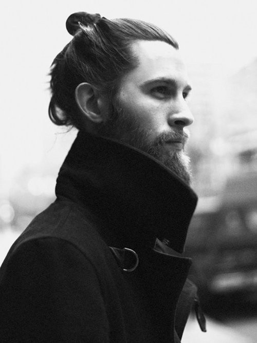 SWAG beard and top knot | Hotties | Pinterest | Top Knot ...