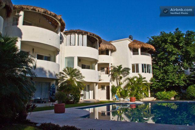 #2 MARCH 26 2014$/MNTH Condo 2BD 2BA Huge Swimming Pool in Playa del Carmen