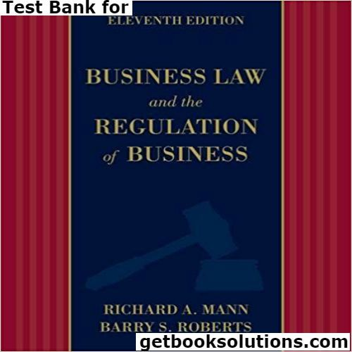 17 best test bank images on pinterest manual textbook and user guide test bank for business law and the regulation of business edition by mann roberts solutions manual and test bank for textbooks fandeluxe Images