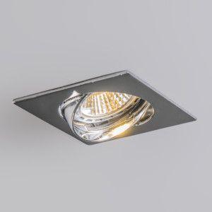 Epic Badezimmer Led Einbaustrahler Edu schwenkbar quadratisch Chrom Wohnzimmerbeleuchtung Beleuchtung nach Raum lampenundleuchten