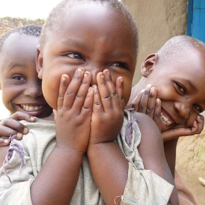 Ugandan smiles by Moses. Beautiful children #photography #swellfavorite