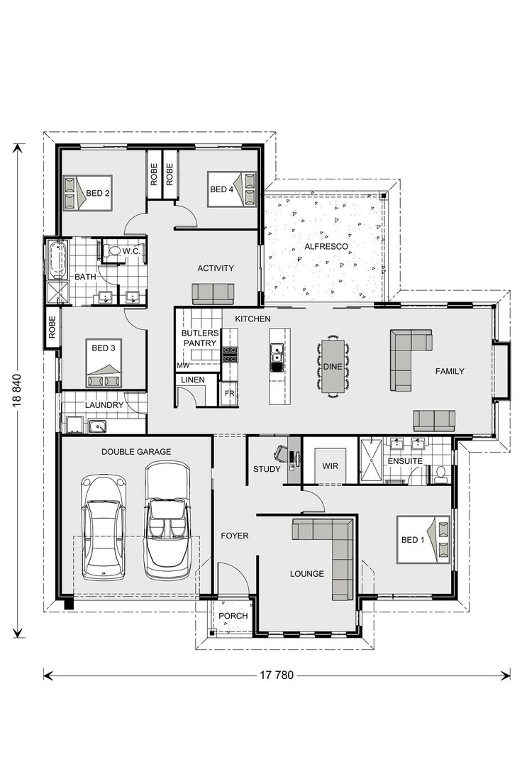 522 best Plans to inspire images on Pinterest | Floor plans, House ...