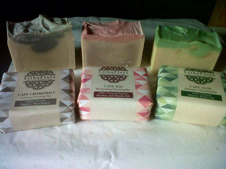 Just made; cold processed by hand, Authentically African Cleansing Bars. Www.LithaFlora.com