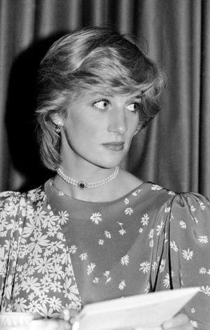 The Princess of Wales listening to speeches at a horse racing presentation ceremony in a London hotel on May 24, 1983. The Princess and her husband, Prince Charles, were attending the National Hunt Awards, for outstanding feats of horsemanship in the 1982-1983 National Hunt Season. (AP Photo/Pool/BIPNA, John Redman) Photo: John Redman, STF